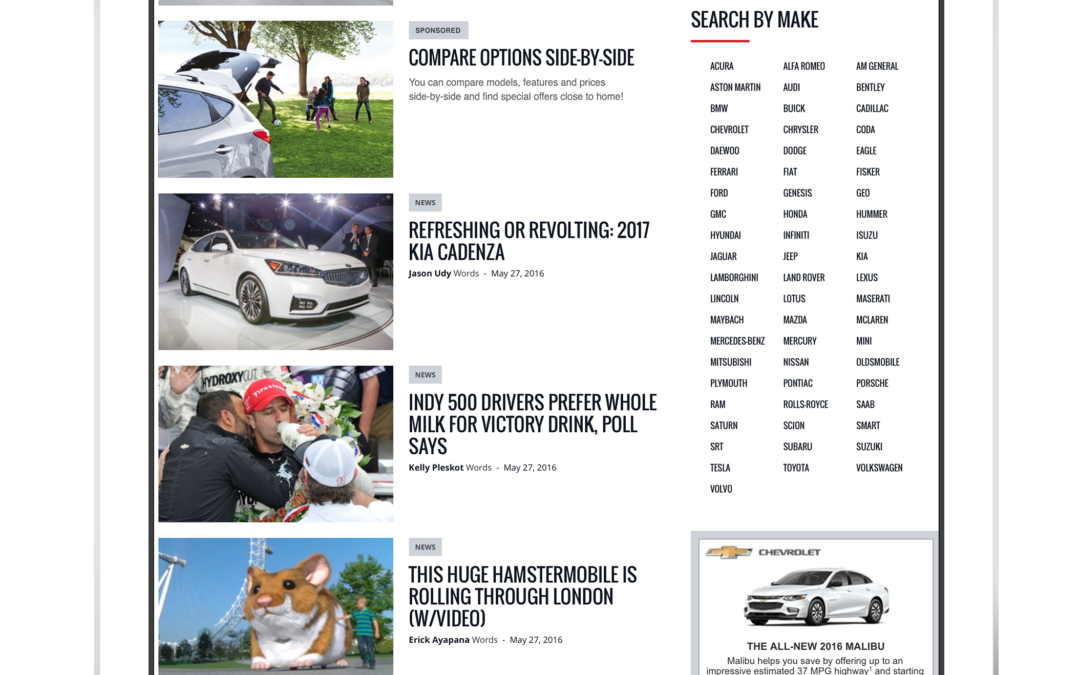 Case Study: A Major Automotive Marketplace